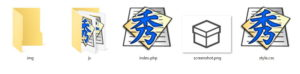 assets構成ファイル